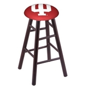 Stool with Indiana Logo Seat by Holland Bar Stool Co.