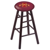 Stool with Iowa State Logo Seat by Holland Bar Stool Co.