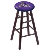Stool with James Madison Logo Seat by Holland Bar Stool Co.