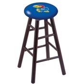Stool with Kansas Logo Seat by Holland Bar Stool Co.