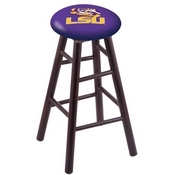 Stool with Louisiana State Logo Seat by Holland Bar Stool Co.
