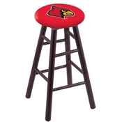 Stool with Louisville Logo Seat by Holland Bar Stool Co.