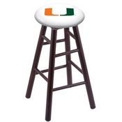 Stool with Miami (FL) Logo Seat by Holland Bar Stool Co.