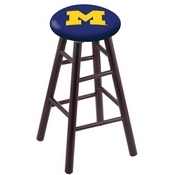Stool with Michigan Logo Seat by Holland Bar Stool Co.