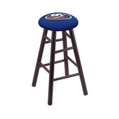 Stool with New York Islanders Logo Seat by Holland Bar Stool Co.