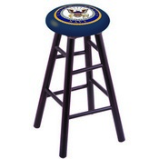 Stool with U.S. Navy Logo Seat by Holland Bar Stool Co.