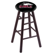 Stool with Northern Illinois Logo Seat by Holland Bar Stool Co.