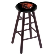 Stool with Oregon State Logo Seat by Holland Bar Stool Co.