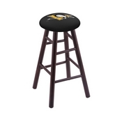Stool with Pittsburgh Penguins Logo Seat by Holland Bar Stool Co.