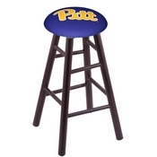 Stool with Pitt Logo Seat by Holland Bar Stool Co.