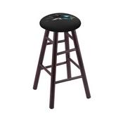 Stool with San Jose Sharks Logo Seat by Holland Bar Stool Co.