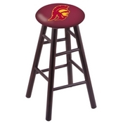 Stool with USC Trojans Logo Seat by Holland Bar Stool Co.