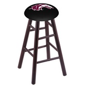 Stool with Southern Illinois Logo Seat by Holland Bar Stool Co.