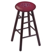 Stool with Texas A&M Logo Seat by Holland Bar Stool Co.