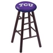 Stool with TCU Logo Seat by Holland Bar Stool Co.