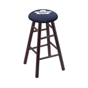 Stool with Toronto Maple Leafs Logo Seat by Holland Bar Stool Co.
