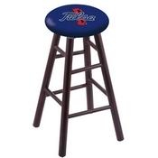 Stool with Tulsa Logo Seat by Holland Bar Stool Co.