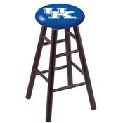 Stool with Kentucky UK Logo Seat by Holland Bar Stool Co.