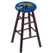 Stool with Kentucky Wildcat Logo Seat by Holland Bar Stool Co.