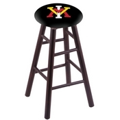 Stool with Virginia Military Institute Logo Seat by Holland Bar Stool Co.