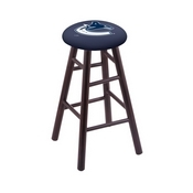 Stool with Vancouver Canucks Logo Seat by Holland Bar Stool Co.