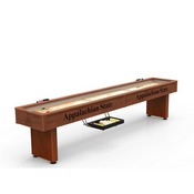 Appalachian State 12' Shuffleboard Table By Holland Bar Stool Co.