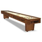 U.S. Navy 12' Shuffleboard Table By Holland Bar Stool Company