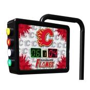 Calgary Flames Electronic Shuffleboard Scoring Unit By Holland Bar Stool Co.
