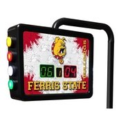 Ferris State Electronic Shuffleboard Scoring Unit By Holland Bar Stool Co.