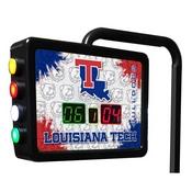 Louisiana Tech Electronic Shuffleboard Scoring Unit By Holland Bar Stool Co.