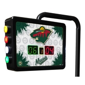 Minnesota Wild Electronic Shuffleboard Scoring Unit By Holland Bar Stool Co.