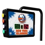 New York Islanders Electronic Shuffleboard Scoring Unit By Holland Bar Stool Co.