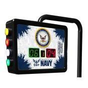 U.S. Navy Electronic Shuffleboard Scoring Unit By Holland Bar Stool Co.