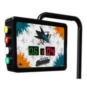 San Jose Sharks Electronic Shuffleboard Scoring Unit By Holland Bar Stool Co.