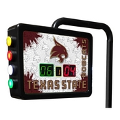Texas State Electronic Shuffleboard Scoring Unit By Holland Bar Stool Co.