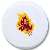 Arizona State Tire Cover with Sparky Logo