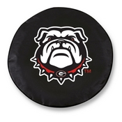 Georgia Bulldog Tire Cover