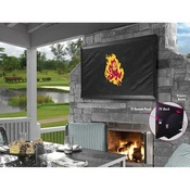 Arizona State TV Cover with Sparky Logo Covers by HBS