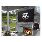 Georgia Bulldog TV Cover by HBS