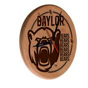 Baylor Laser Engraved Wood Clock by the Holland Bar Stool Co.