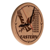 Eastern Washington Laser Engraved Wood Clock by the Holland Bar Stool Co.