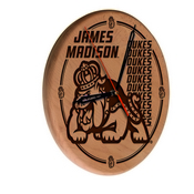 James Madison Laser Engraved Wood Clock by the Holland Bar Stool Co.