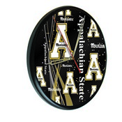 Appalachian State Digitally Printed Wood Clock by the Holland Bar Stool Co.