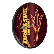 Arizona State Digitally Printed Wood Clock by the Holland Bar Stool Co.