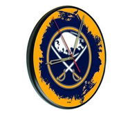 Buffalo Sabres Digitally Printed Wood Clock by the Holland Bar Stool Co.
