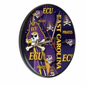 East Carolina Digitally Printed Wood Clock by the Holland Bar Stool Co.