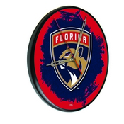 Florida Panthers Digitally Printed Wood Clock by the Holland Bar Stool Co.
