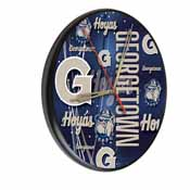 Georgetown Digitally Printed Wood Clock by the Holland Bar Stool Co.