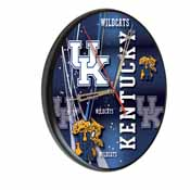 Kentucky Digitally Printed Wood Clock by the Holland Bar Stool Co.
