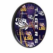 Louisiana State Digitally Printed Wood Clock by the Holland Bar Stool Co.